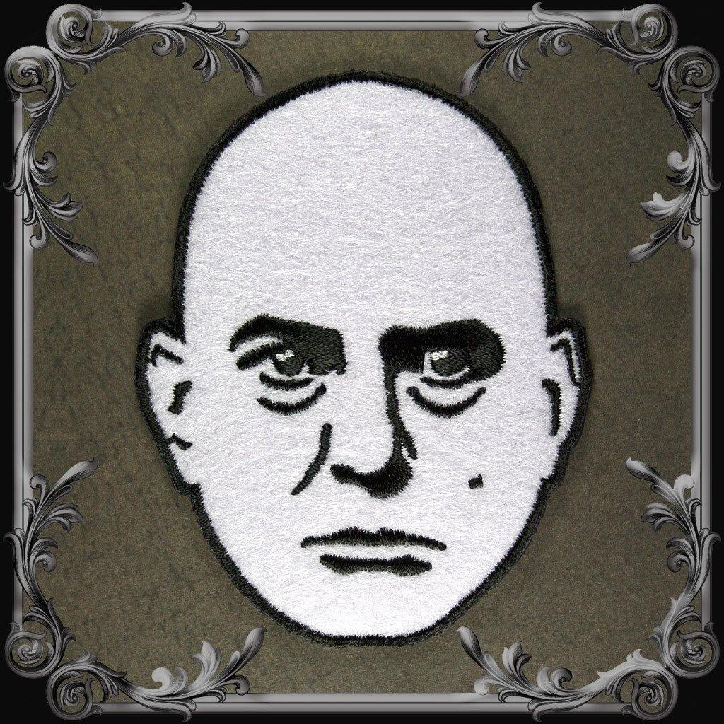 Aleister Crowley Head Patch