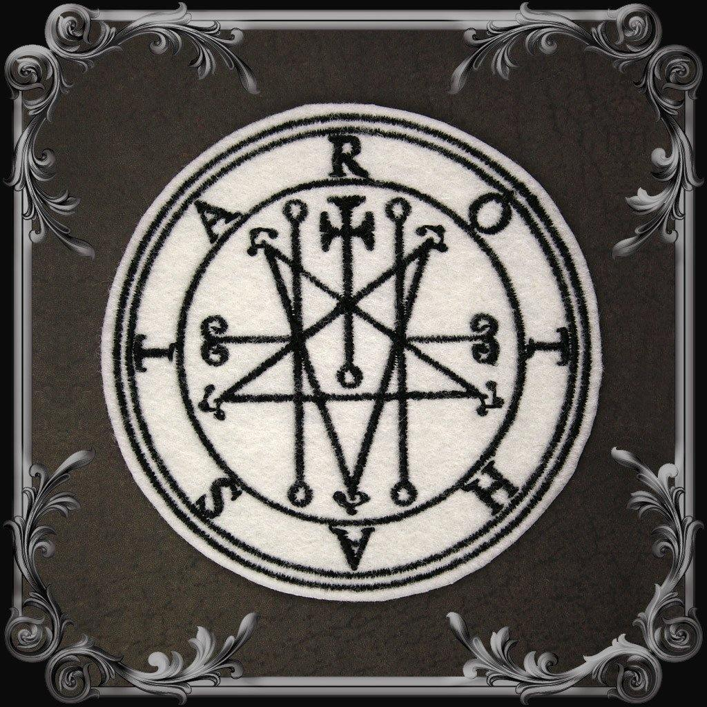 Astaroth Seal Patch - White
