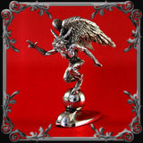Baphomet Hood Ornament - Silver-Plated - MADE TO ORDER!