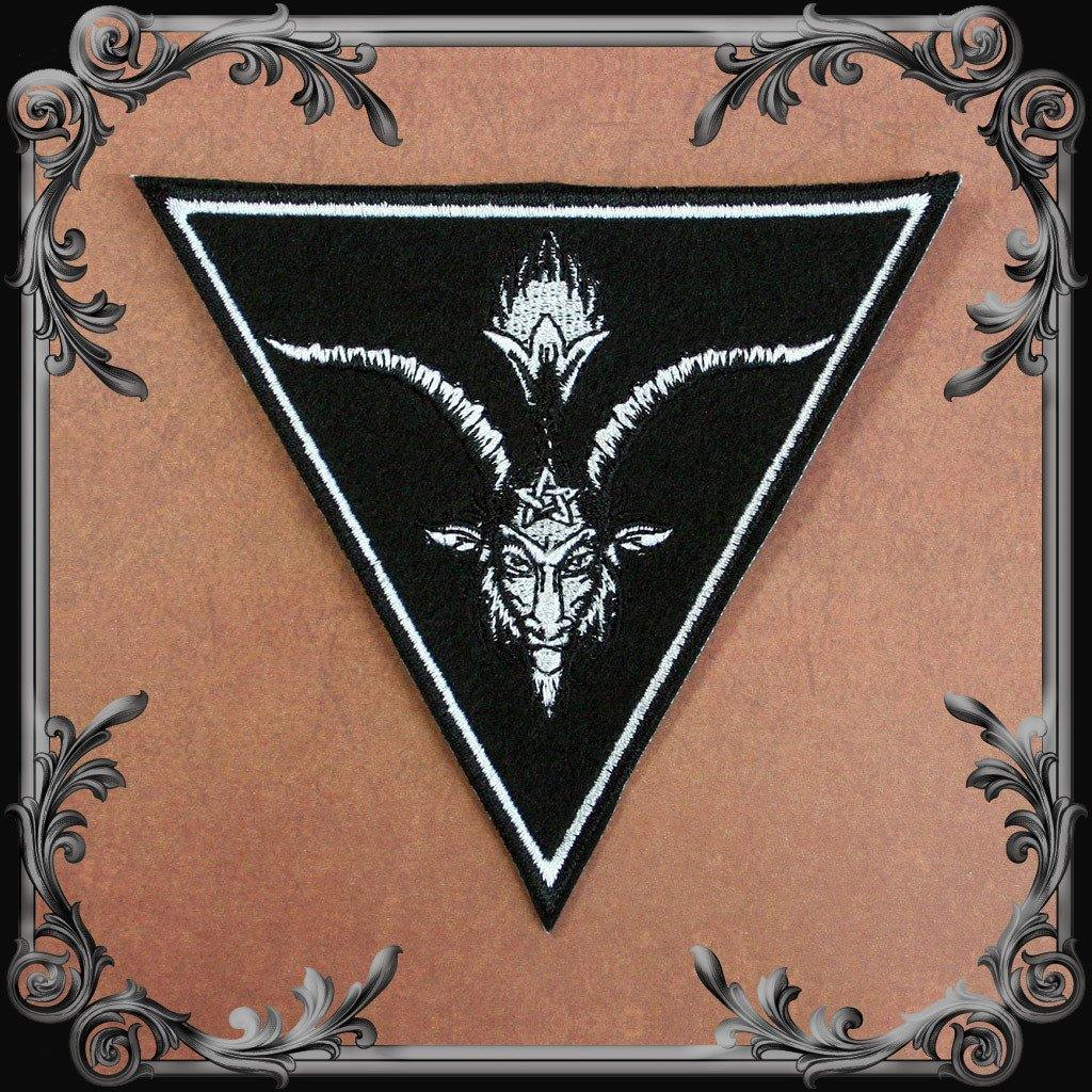 Baphomet Triangle Patch