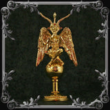 Baphomet Statue - Gold-Plated