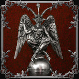 Baphomet Statue - Medium Pewter Finish - MADE TO ORDER!