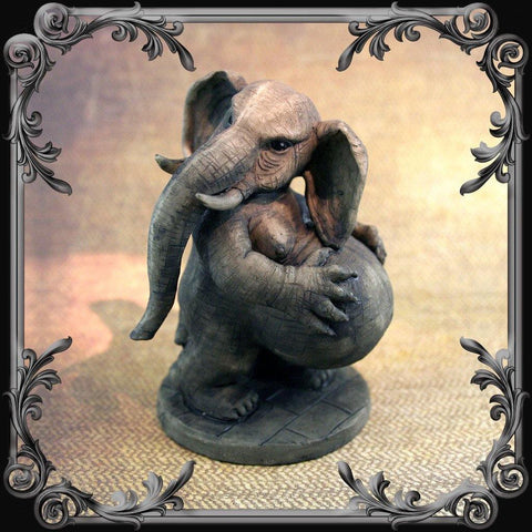 Behemoth Statue - Stone Finish