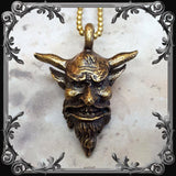 Belphegor Necklace - Solid Brass