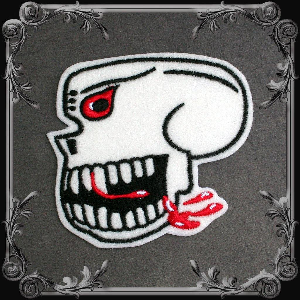 Burma Banshees Skull Patch - West