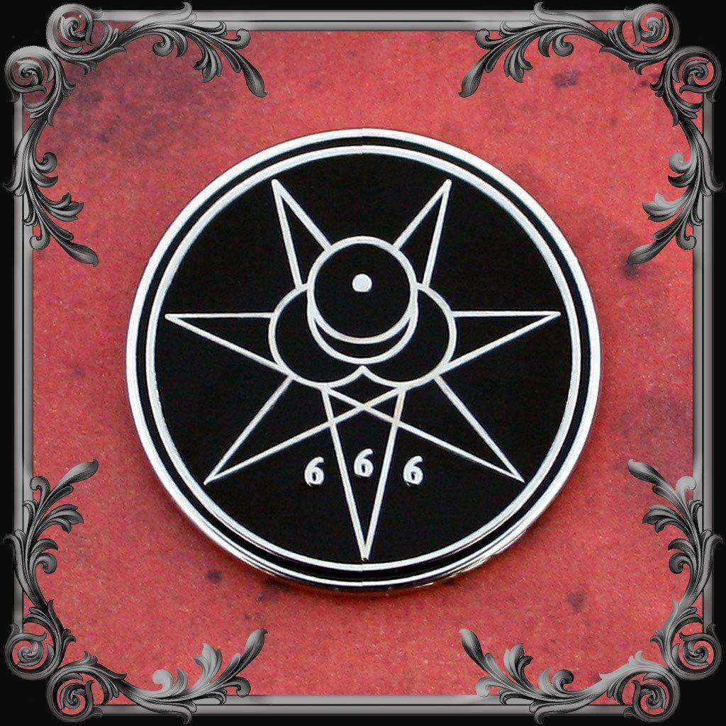 Crowley Seal Lapel Pin