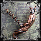 Naughty Devil Corkscrew - Antique Copper Finish
