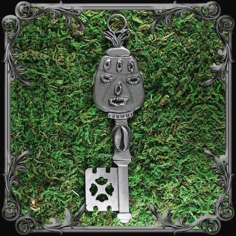 Elegba Key Plaque