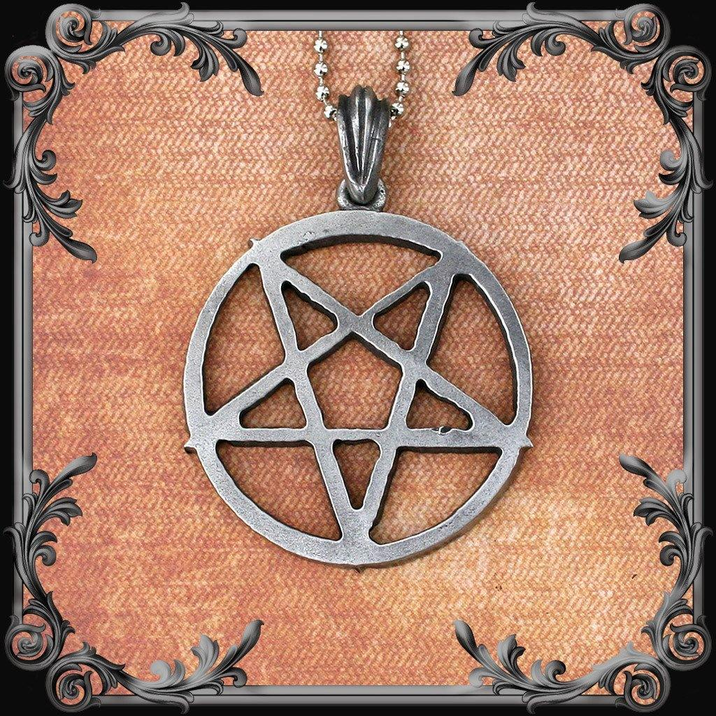 Pentagram Necklace (Inverted) - Medium