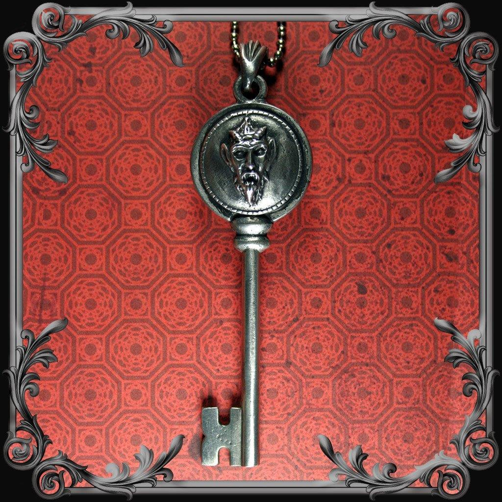 Krampus Key Pendant
