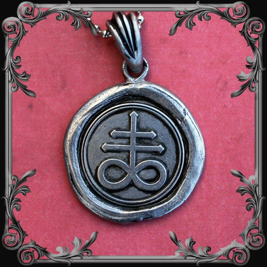 Leviathan Cross Seal Necklace