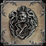 Memento Mori Belt Buckle