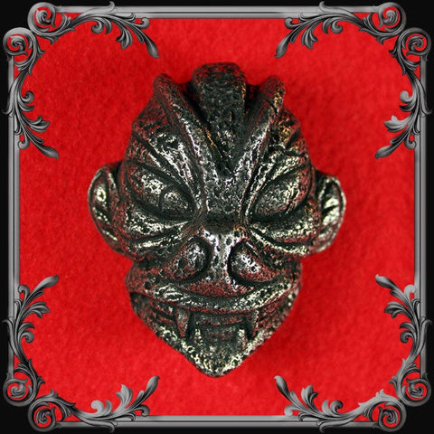 Pazuzu Head Belt Buckle