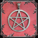 Pentagram Necklace - Large