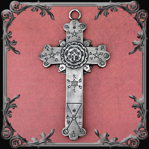 Rose Cross Plaque