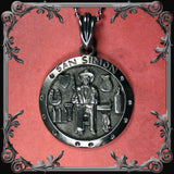 San Simon Medallion Necklace - Medium