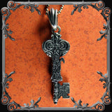 Santa Muerte Key Necklace