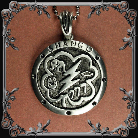 Shango Medallion Necklace - Medium