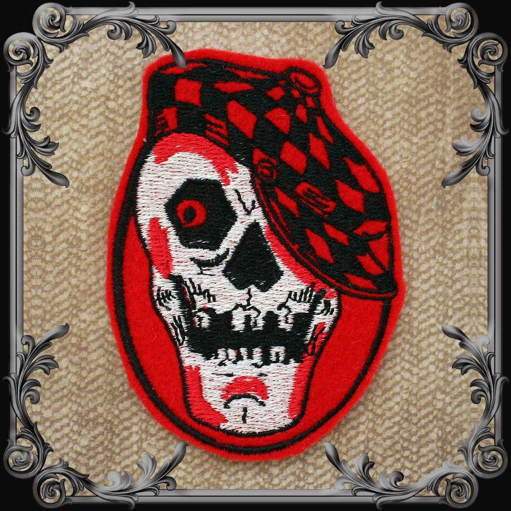 Skull with Cap Patch