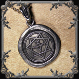Star of Babalon Seal Necklace