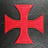 Templar Cross Patch