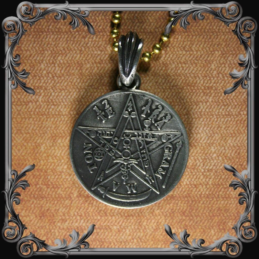 Tetragrammaton Necklace (Double-sided) #2