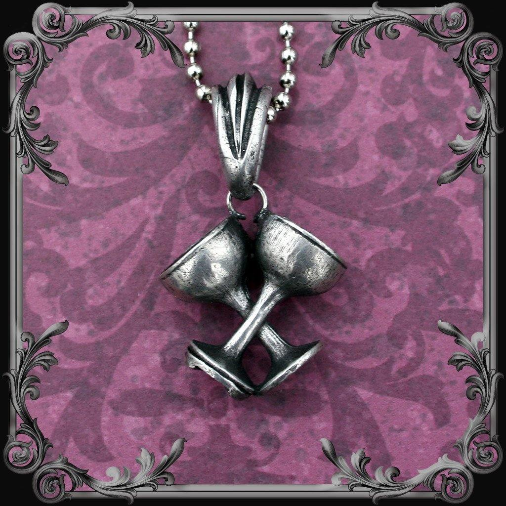 Two of Cups Necklace
