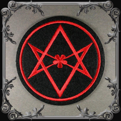Unicursal Hexagram Patch