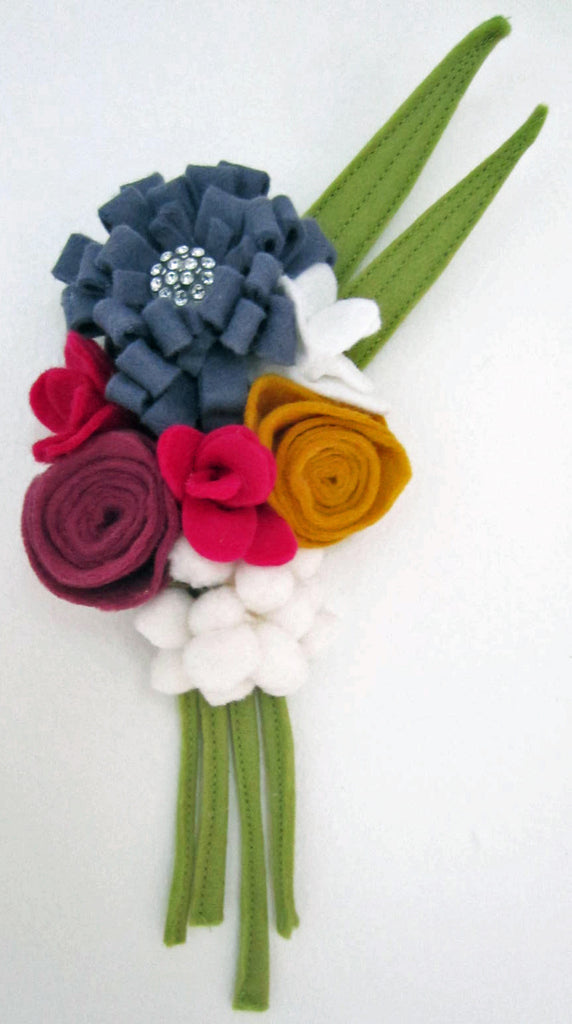 Spring Felt Flower Tutorial