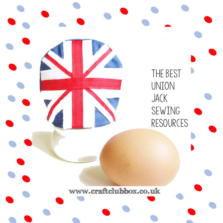 Best Union Jack Sewing Ideas & Free Tutorials by Craft Club Box