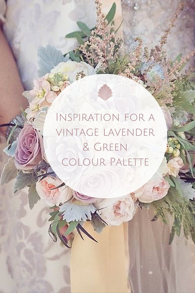 Wedding Theme // Lavender and Green