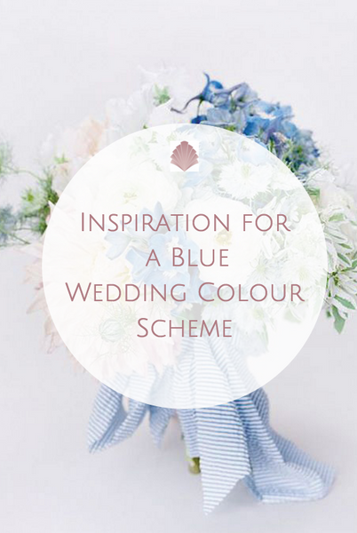 Wedding Theme // Shades of Pale Blue