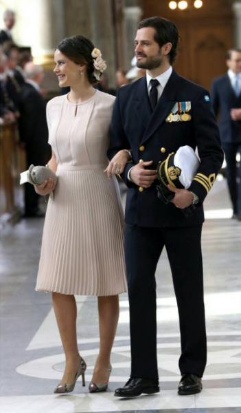 Fit for a Princess! Princess Sofia of Sweden wears Vintage Styler