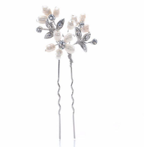 Odette Freshwater Pearl Wedding Hair Pin