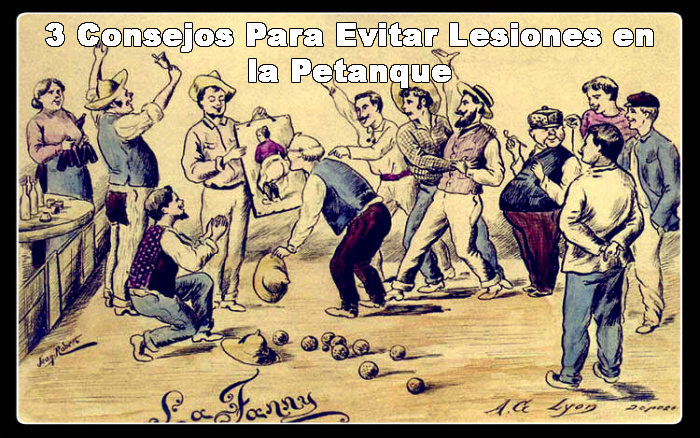 3 Tips to Avoid Petanque Injuries
