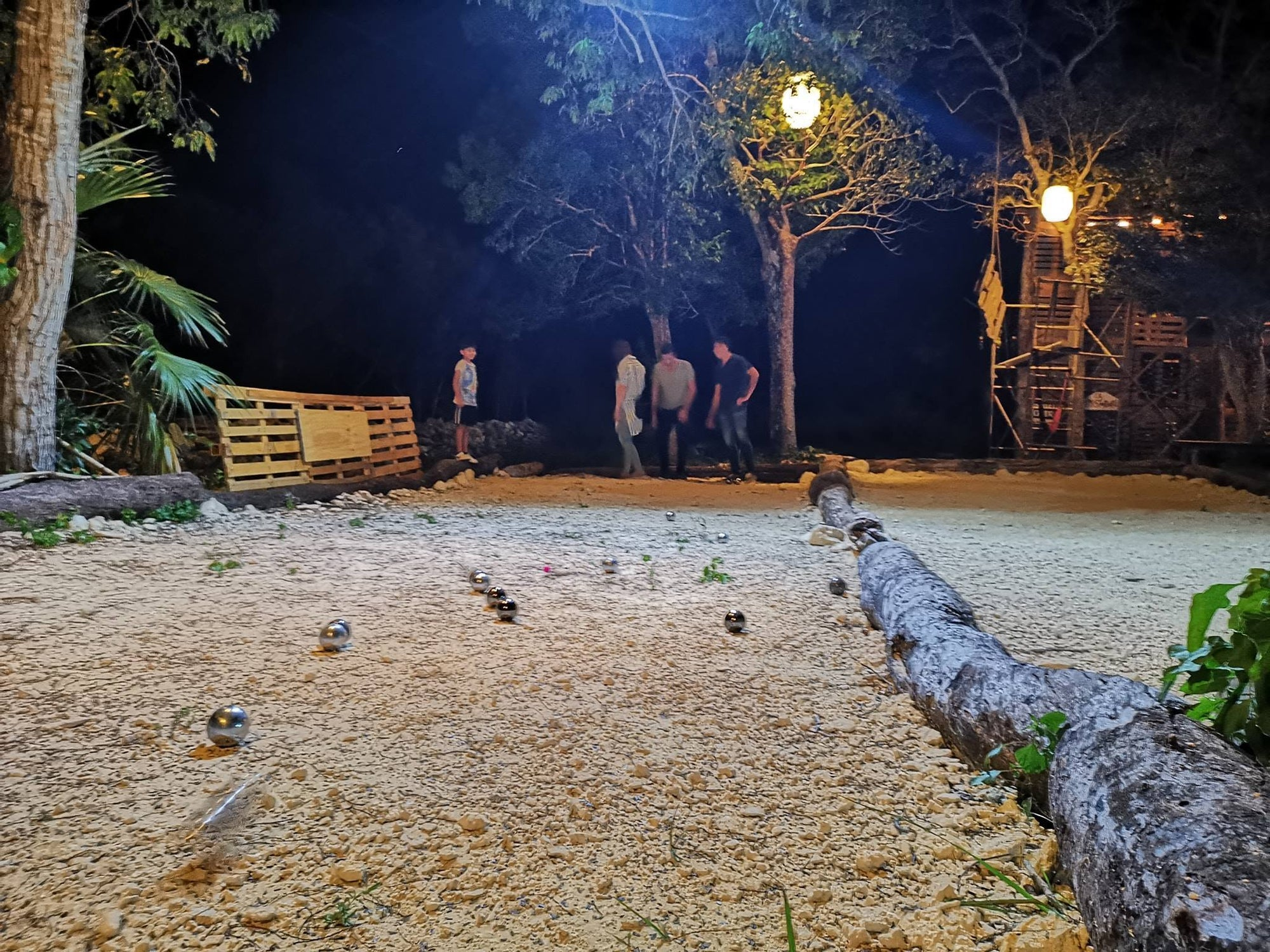 Where to play petanque in Mexico - Casa Costal