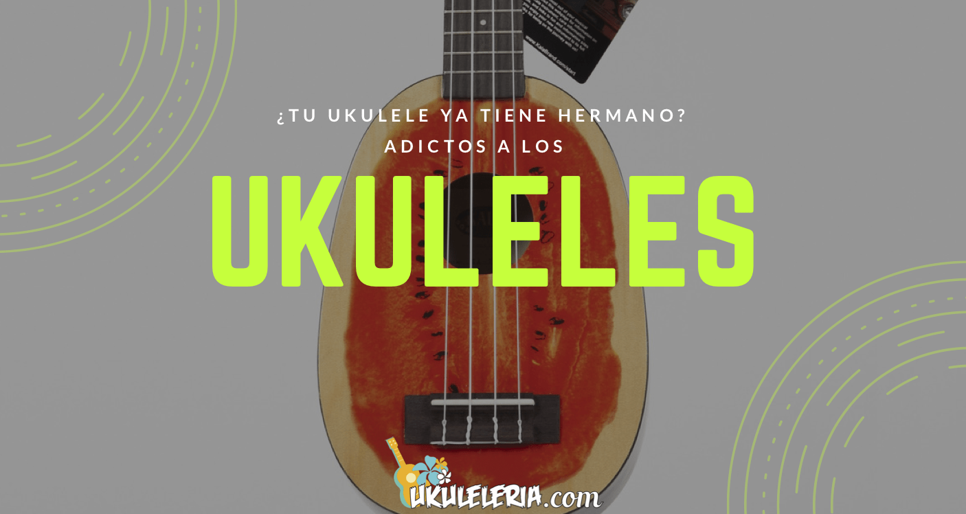 Does your ukulele already have a brother? Addicted to the Ukuleles.