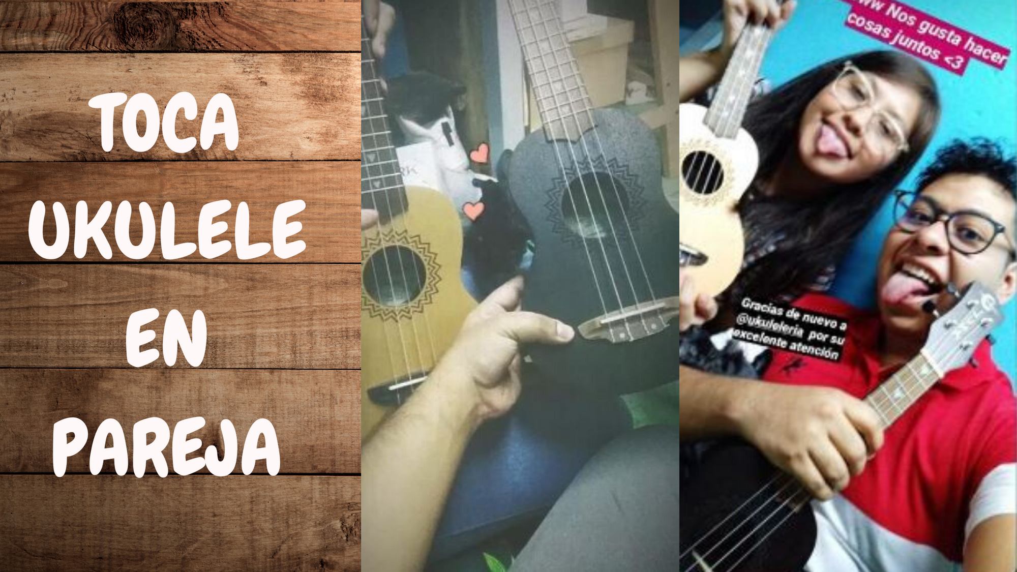 ukulele as a couple