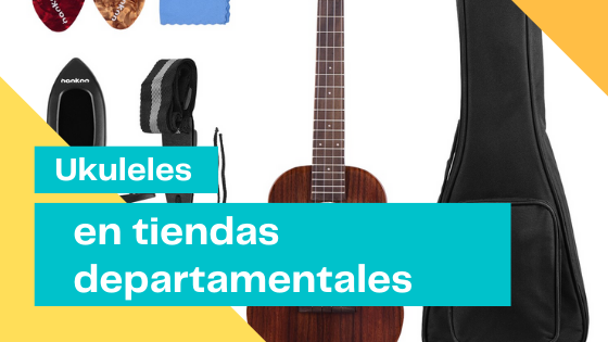 Ukuleles in department stores