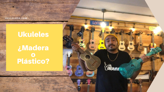 How much does a Wooden Ukulele cost and how much does a plastic one cost?