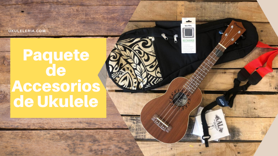 How to buy a complete package of Ukulele accessories?