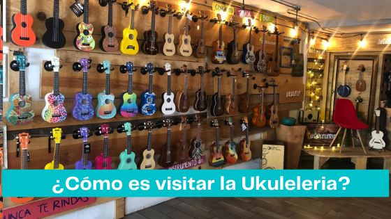 What is it like to go to the Ukuleleria?