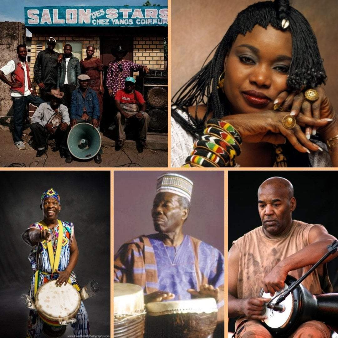 The biggest 5 African drummers.