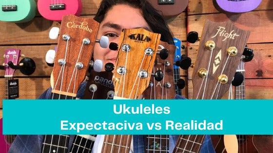 Ukuleles: Expectation Vs Reality