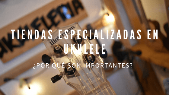 Why are specialized stores in Ukulele important?