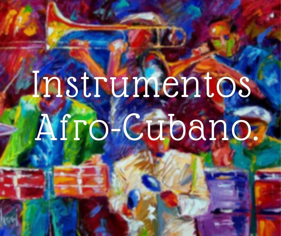 Afro-Cuban instrument
