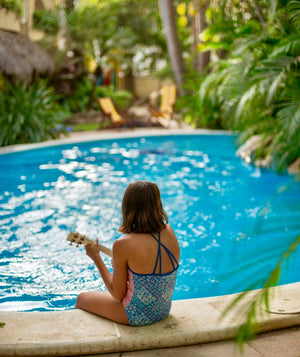My vacation with my family and my ukulele
