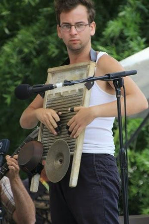 El lavadero como instrumento musical: The Washboard