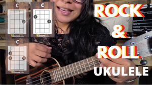 3 ACORDES para hacer ROCK AND ROLL en UKULELE