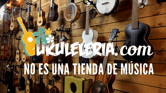 Ukuleleria is NOT a music store.